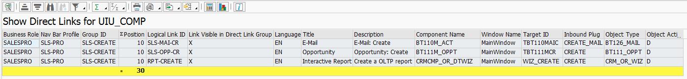 Quickview ( Query ) Ergebnis Direktlinks