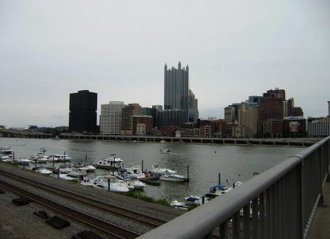 Pittsburgh skyline from station square