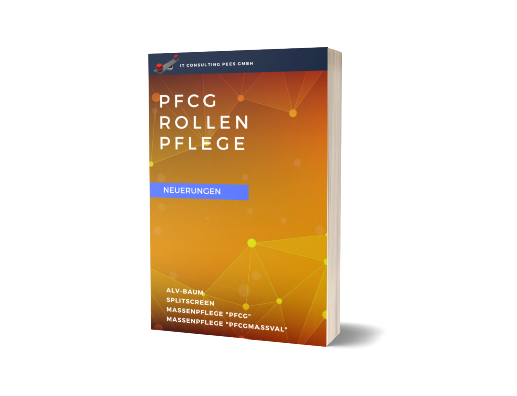 E-Book PFCG Rollenpflege