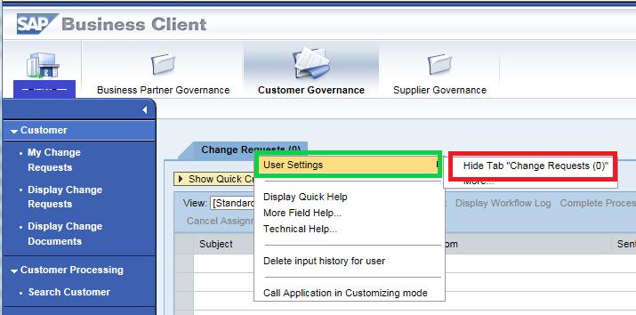 Personalisierung Web-Dynpro im WebUI